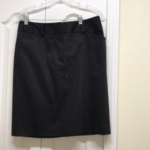 Anne Klein black pencil skirt